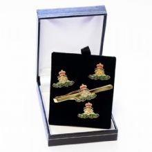 Royal Artillery - Cufflinks, Tie Slide or Boxed Set from